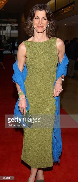 Actress Wendie Malick attends the 16th Annual Genesis Awards at The Beverly Hilton Hotel March 16 2002 in Beverly Hills CA