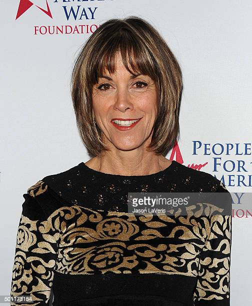 Actress Wendie Malick attends the 2015 Spirit of Liberty Awards dinner at the Beverly Wilshire Four Seasons Hotel on December 12 2015 in Beverly...