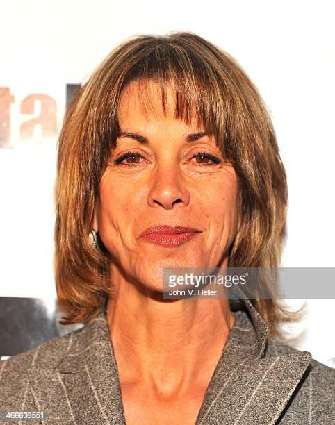 Actress Wendie Malick attends the 2nd annual Borgnine Movie Star Gala honoring actor Joe Mantegna at the Sportman's Lodge on February 1 2014 in...