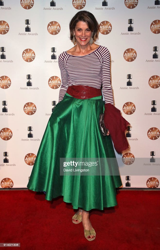 Actress Wendie Malick attends the 45th Annual Annie Awards at Royce Hall on February 3, 2018 in Los Angeles, California.