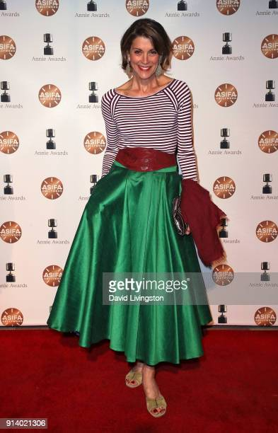 Actress Wendie Malick attends the 45th Annual Annie Awards at Royce Hall on February 3 2018 in Los Angeles California