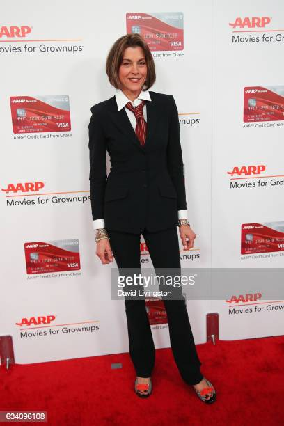 Actress Wendie Malick attends the AARP's 16th Annual Movies for Grownups Awards at the Beverly Wilshire Four Seasons Hotel on February 6 2017 in...