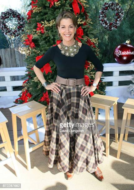 Actress Wendie Malick visits Hallmark's 'Home Family' at Universal Studios Hollywood on November 9 2017 in Universal City California