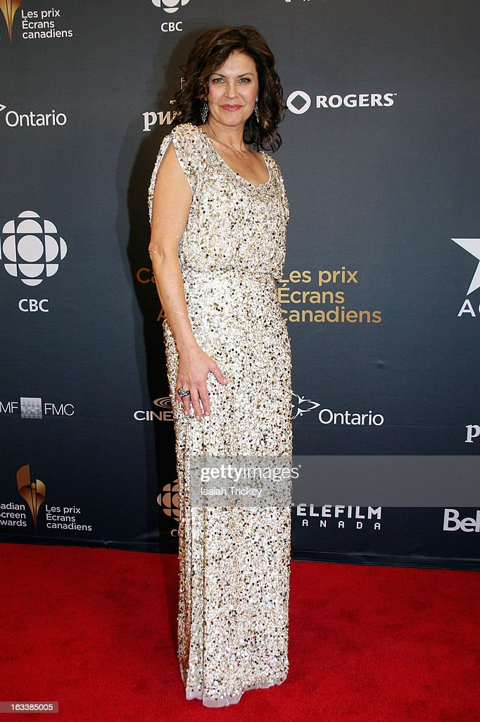 Actress Wendy Crewson attends the Canadian Screen Awrads at Sony Centre for the Performing Arts on March 3, 2013 in Toronto, Canada.