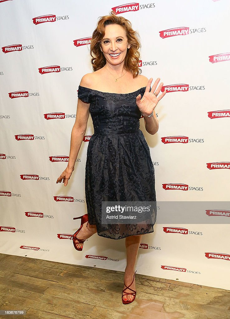 Actress Wendy Makkena attends the 'Bronx Bombers' opening night after Party at West Bank Cafe on October 8, 2013 in New York City.