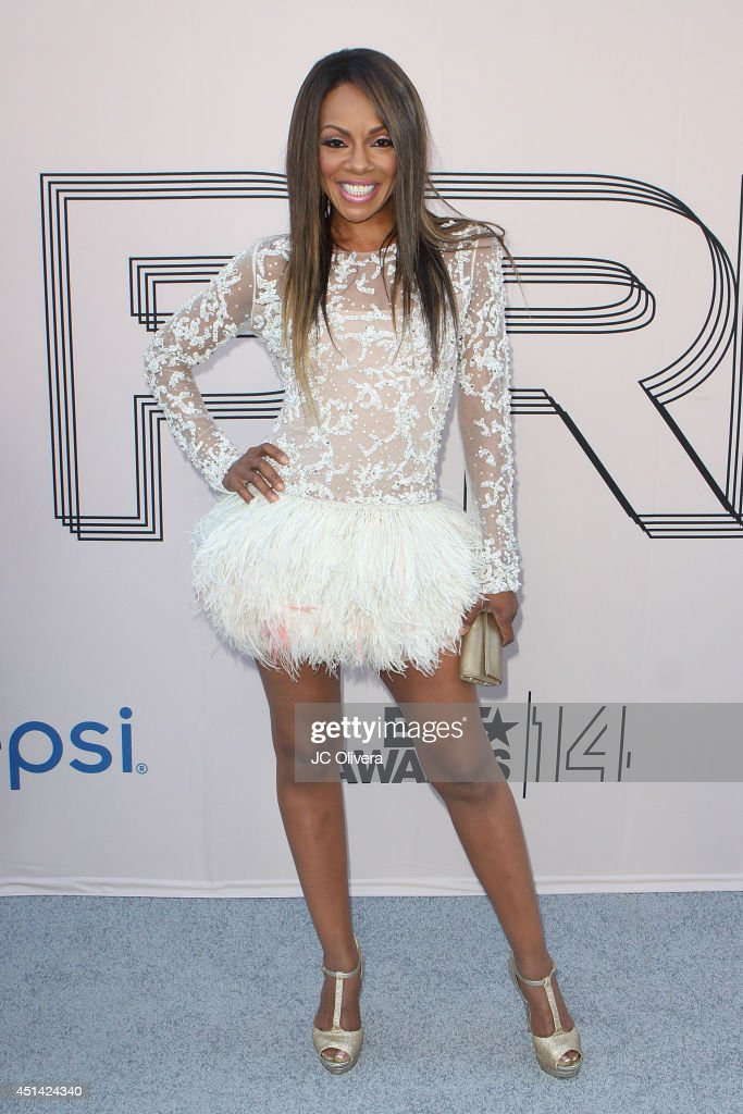 Actress Wendy Raquel Robinson attends 'PRE' BET Awards Dinner at Milk Studios on June 28, 2014 in Hollywood, California.