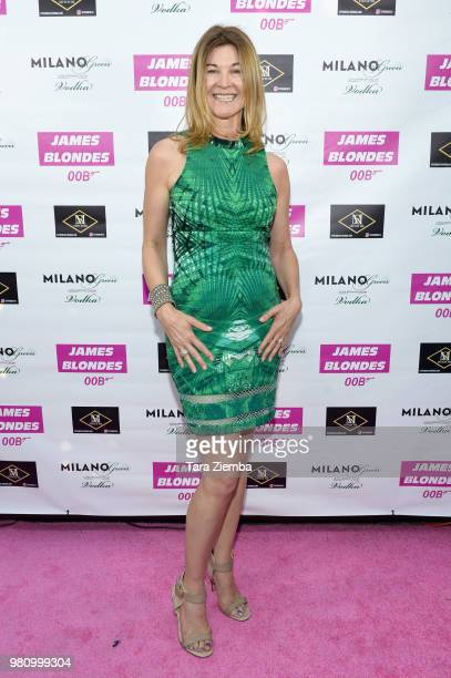 Actress Wendy Wilkins attends 'James Blondes' premiere party and QA with Robert Carradine and Julie Lake at Bar Lubitsch on June 21 2018 in Los...