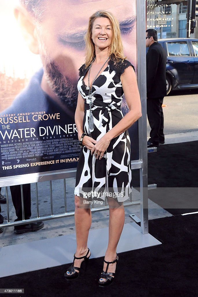 Actress Wendy Willkins attends the premiere of 'The Water Diviner' at TCL Chinese Theatre IMAX on April 16, 2015 in Hollywood, California.