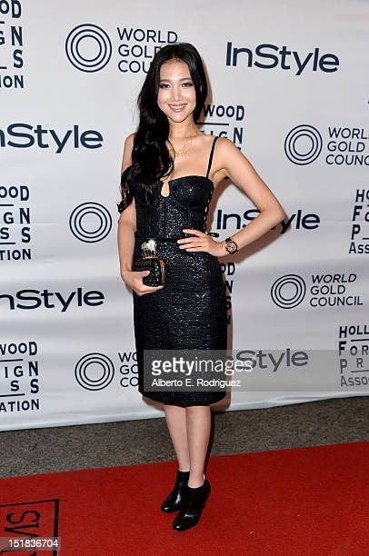 Actress Wenwen Han arrives at the 13th Annual InStyle And The Hollywood Foreign Press Association's Toronto International Film Festival Party at the...