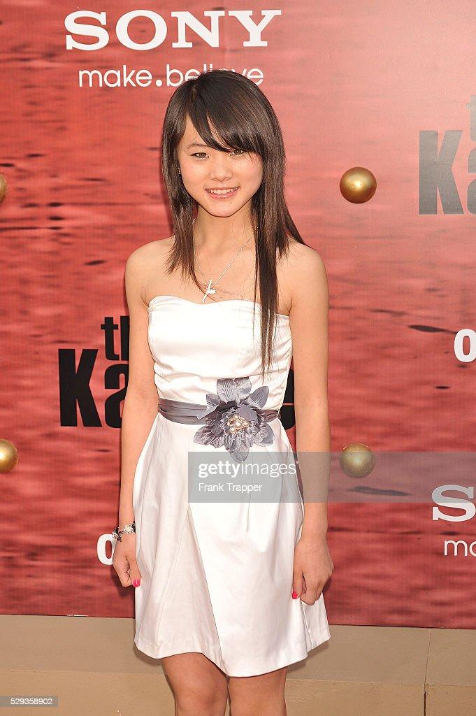 """USA - """"The Karate Kid"""" Premiere in Los Angeles : Nachrichtenfoto"""