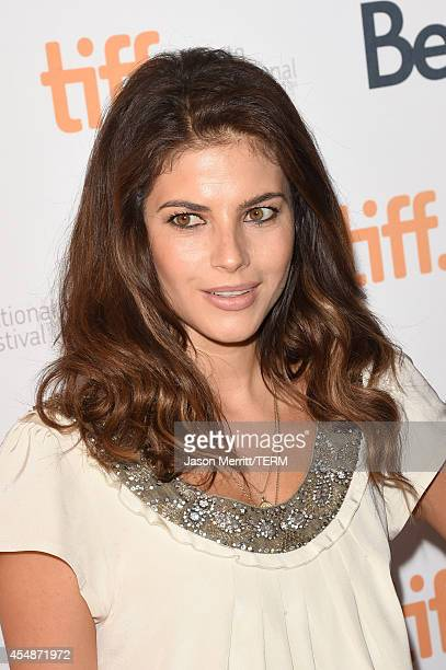 Actress Weronika Rosati attends The Good Lie premiere during the 2014 Toronto International Film Festival at The Elgin on September 7 2014 in Toronto...