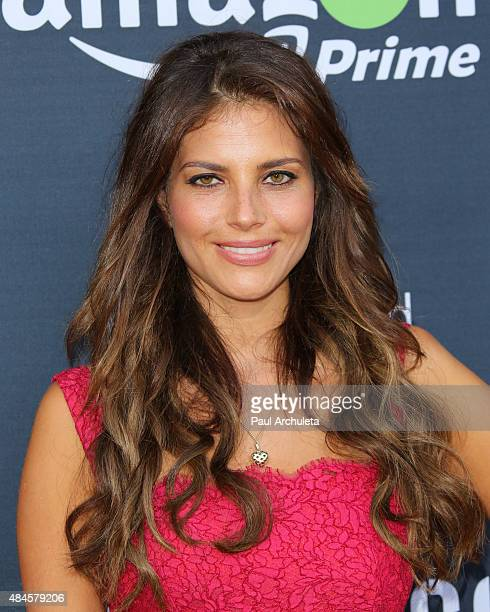 Actress Weronika Rosati attends the premiere of Amazon's series Hand Of God at Ace Theater Downtown LA on August 19 2015 in Los Angeles California