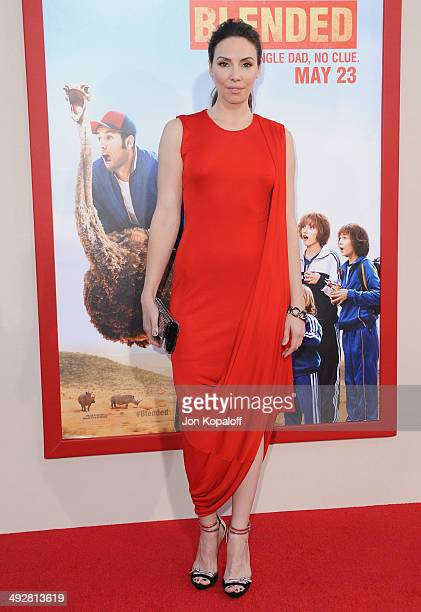 Actress Whitney Cummings arrives at the Los Angeles Premiere 'Blended' at TCL Chinese Theatre on May 21 2014 in Hollywood California