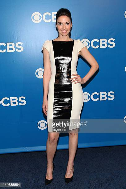 Actress Whitney Cummings attends the 2012 CBS Upfronts at The Tent at Lincoln Center on May 16 2012 in New York City
