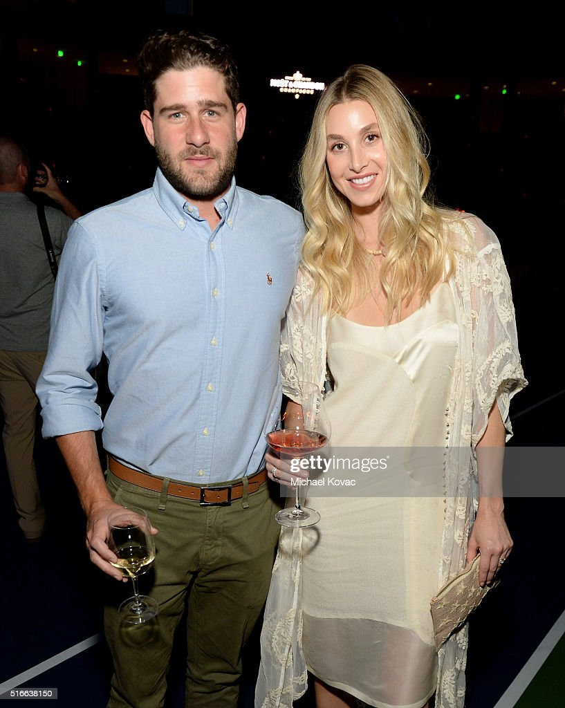 Actress Whitney Port (R) and Tim Rosenman attend The Moet and Chandon Inaugural 'Holding Court' Dinner at The 2016 BNP Paribas Open on March 19, 2016 in Indian Wells, California.