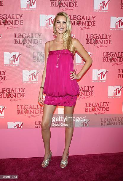 Actress Whitney Port arrives at a special MTV taping of Legally Blonde the musical at the Palace Theater September 18 2007 in New York City