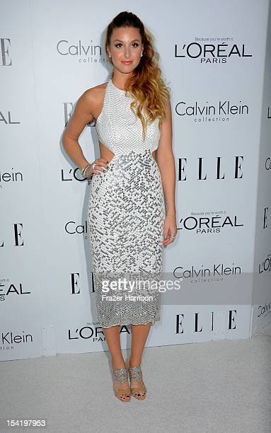 Actress Whitney Port arrives at ELLE's 19th Annual Women In Hollywood Celebration at the Four Seasons Hotel on October 15 2012 in Beverly Hills...