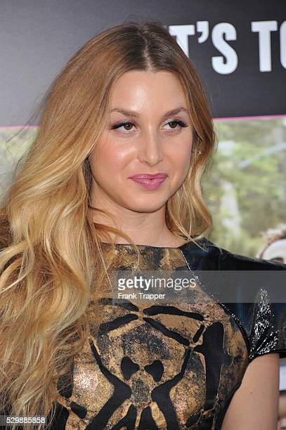 Actress Whitney Port arrives at the premiere of What To Expect When Your Expecting premiere held at Grauman's Chinese Theater