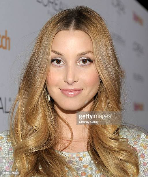 Actress Whitney Port arrives to 'A Night Of Red Carpet Style' hosted by People StyleWatch at Decades on January 27, 2011 in Los Angeles, California.