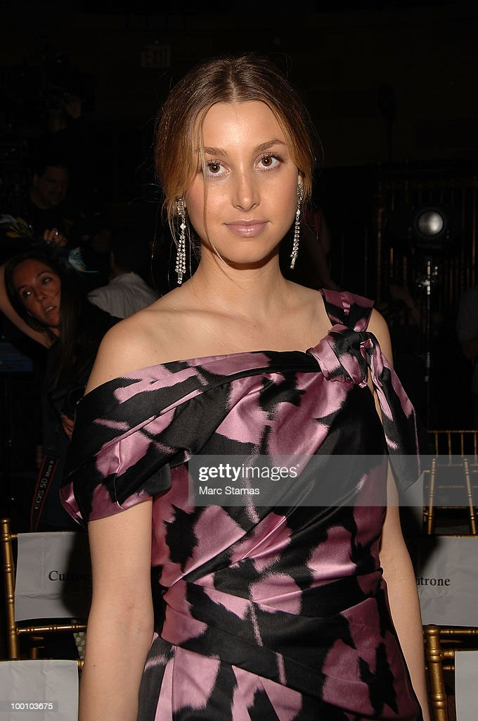 Actress Whitney Port attends the 9th annual 'Tulips & Pansies: A Headdress Affair' at Gotham Hall on May 20, 2010 in New York City.
