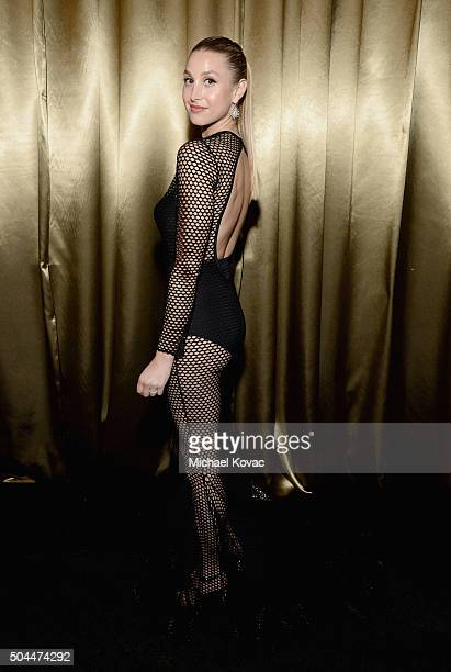 Actress Whitney Port attends The Weinstein Company's 2016 Golden Globe Awards After Party at The Beverly Hilton Hotel on January 10 2016 in Beverly...
