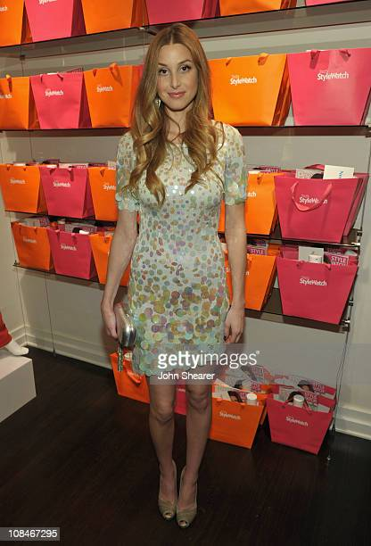 """Actress Whitney Port the People StyleWatch """"A Night Of Red Carpet Style"""" event at Decades on January 27, 2011 in Los Angeles, California."""