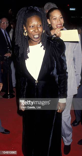 Actress Whoopi Goldberg and daughter Alex Martin attend the premiere of 'Made In America' on May 27 1993 at Mann Bruin Theater in Westwood California