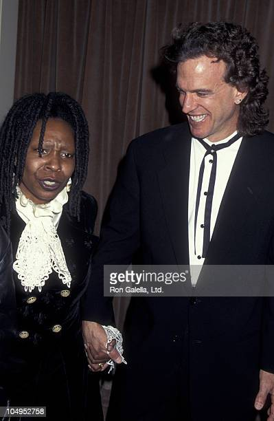 Actress Whoopi Goldberg and Lyle Trachtenberg attend Sheba Humanitarian Awards Honoring Whoopi Goldberg on January 22 1995 at the Beverly Wilshire...