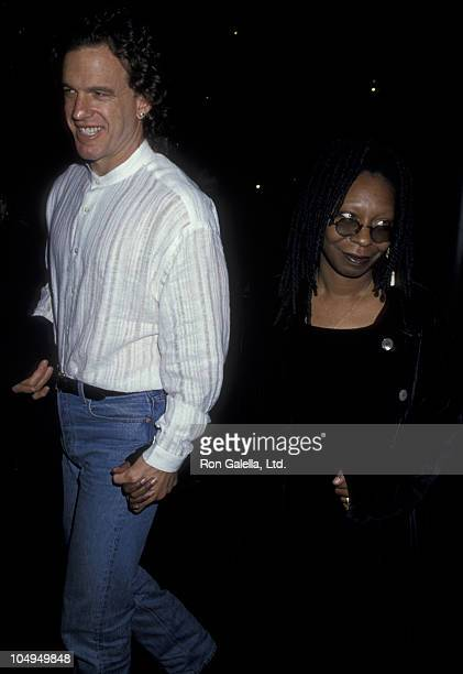 Actress Whoopi Goldberg and Lyle Trachtenberg attend the screening of Boys On The Side on February 1 1995 at the Director's Guild Theater in...