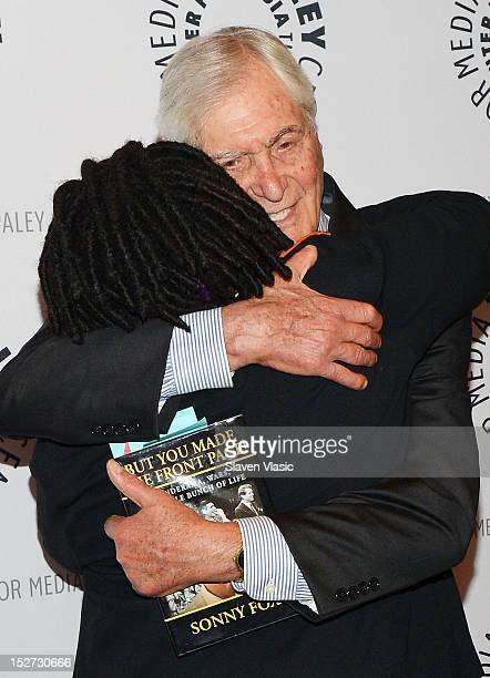 Actress Whoopi Goldberg and TV personality Sonny Fox attend The Paley Center For Media Presents Sonny Fox Forty Years in Television A Conversation...