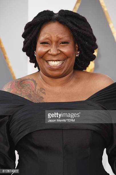 Actress Whoopi Goldberg attends the 88th Annual Academy Awards at Hollywood Highland Center on February 28 2016 in Hollywood California