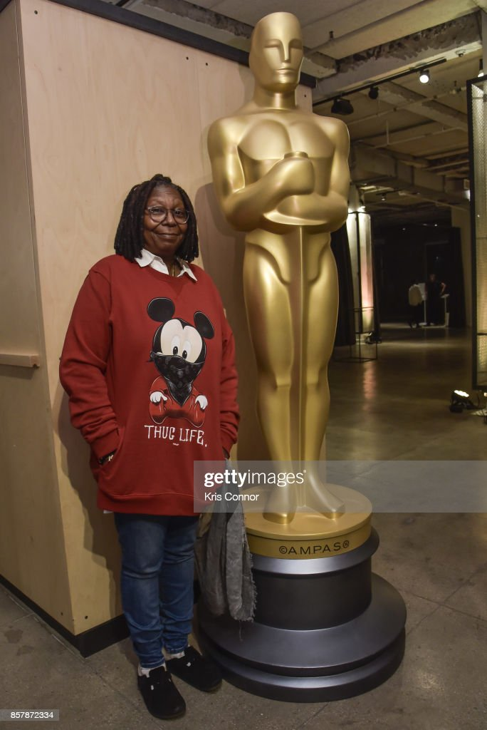 Actress Whoopi Goldberg attends 'The Academy of Motion Picture Arts & Sciences Hosts the 2017 New Members Party' at NeueHouse Madison Square on October 2, 2017 in New York City.