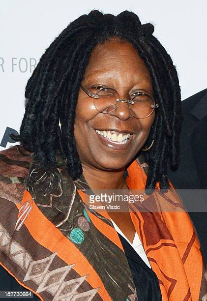 Actress Whoopi Goldberg attends The Paley Center For Media Presents Sonny Fox Forty Years in Television A Conversation With Whoopi Goldberg at Paley...