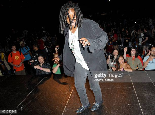 Actress Whoopi Goldberg attends Wizard World Philadelphia Comic Con 2014 Day 3 held at Pennsylvania Convention Center on June 21 2014 in Philadelphia...