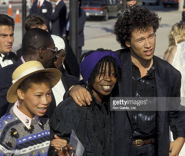 Actress Whoopi Goldberg husband David Classen and daughter Alexandra Martin attend 38th Annual Primetime Emmy Awards on September 21 1986 at the...