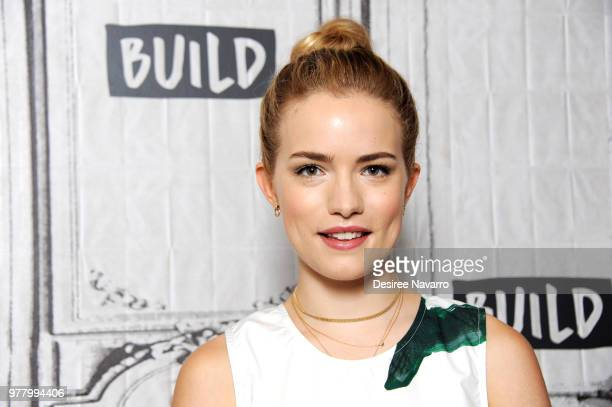 Actress Willa Fitzgerald attends Build series to discuss 'Beach House' at Build Studio on June 18 2018 in New York City