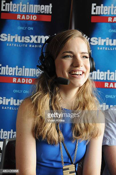 Actress Willa Fitzgerald attends SiriusXM's Entertainment Weekly Radio Channel Broadcasts From ComicCon 2015 at Hard Rock Hotel San Diego on July 11...