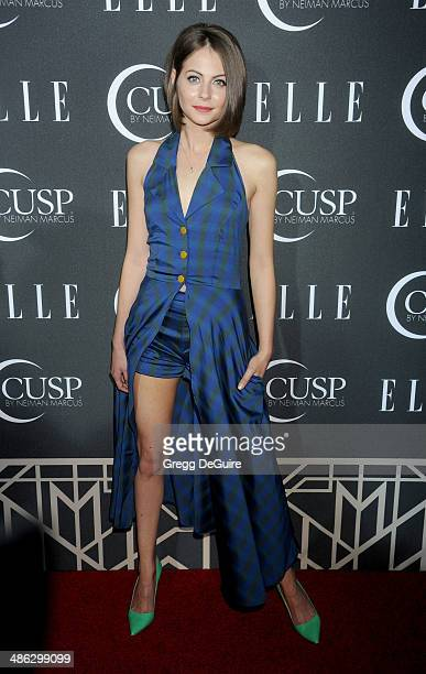 Actress Willa Holland arrives at ELLE's 5th Annual Women In Music concert celebration at Avalon on April 22 2014 in Hollywood California