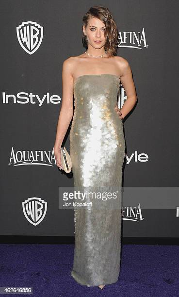Actress Willa Holland arrives at the 16th Annual Warner Bros And InStyle PostGolden Globe Party at The Beverly Hilton Hotel on January 11 2015 in...