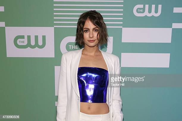 Actress Willa Holland attends the CW Network's New York 2015 Upfront Presentation at The London Hotel on May 14 2015 in New York City