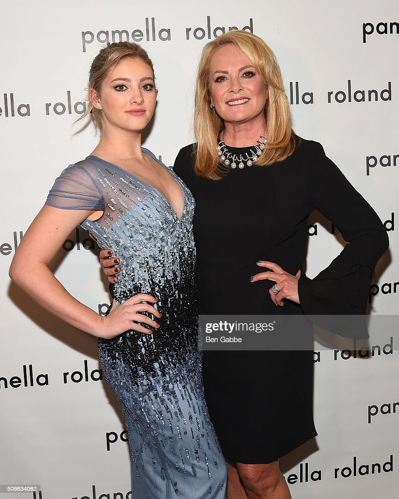 Actress Willow Shields and fashion designer Pamella Roland