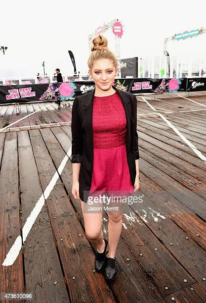 Actress Willow Shields attends Celebrity Nintendo Splatoon Mess Fest on May 15 2015 in Santa Monica California