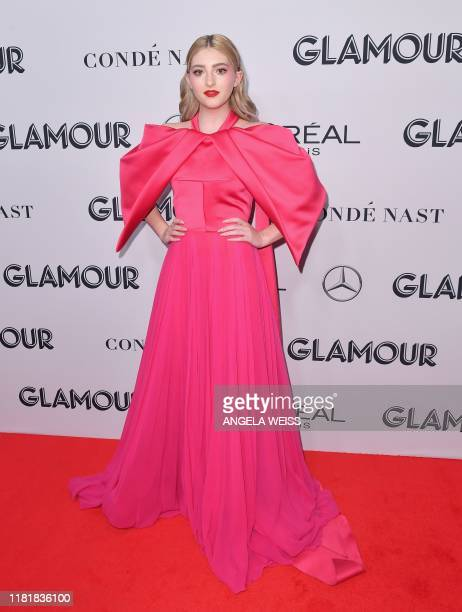 US actress Willow Shields attends the 2019 Glamour Women Of The Year Awards at Alice Tully Hall Lincoln Center on November 11 2019 in New York City