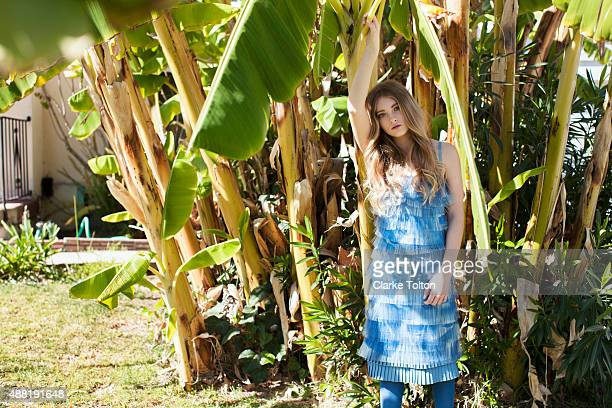 Actress Willow Shields is photographed for Nylon Magazine on February 16 2012 in Los Angeles California