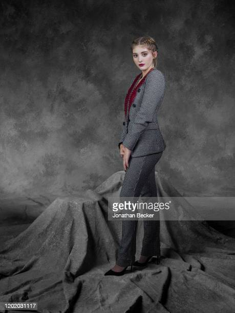 Actress Willow Shields poses for a portrait at the Savannah Film Festival on November 4, 2017 at Savannah College of Art and Design in Savannah,...