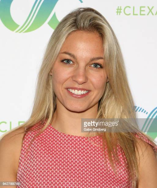 Actress Winny Clarke attends the ClexaCon 2018 convention at the Tropicana Las Vegas on April 6, 2018 in Las Vegas, Nevada.