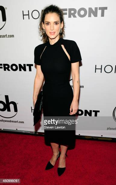 Actress Winona Ryder arrives to the premiere of 'Homefront' at Planet Hollywood Resort Casino on November 20 2013 in Las Vegas Nevada