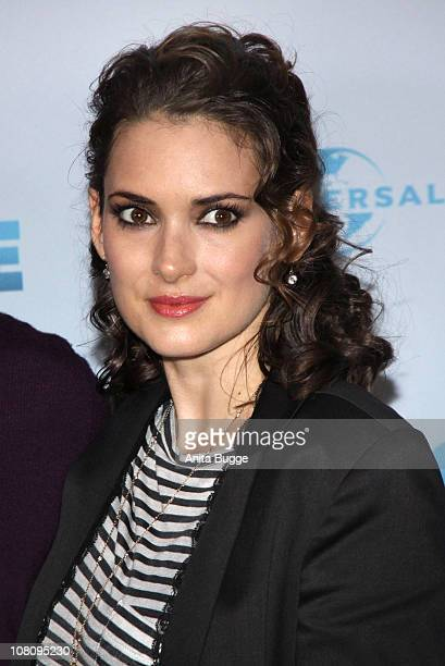 Actress Winona Ryder attends a photocall to promote the movie 'Dickste Freunde' at Hotel Adlon on January 17, 2011 in Berlin, Germany.