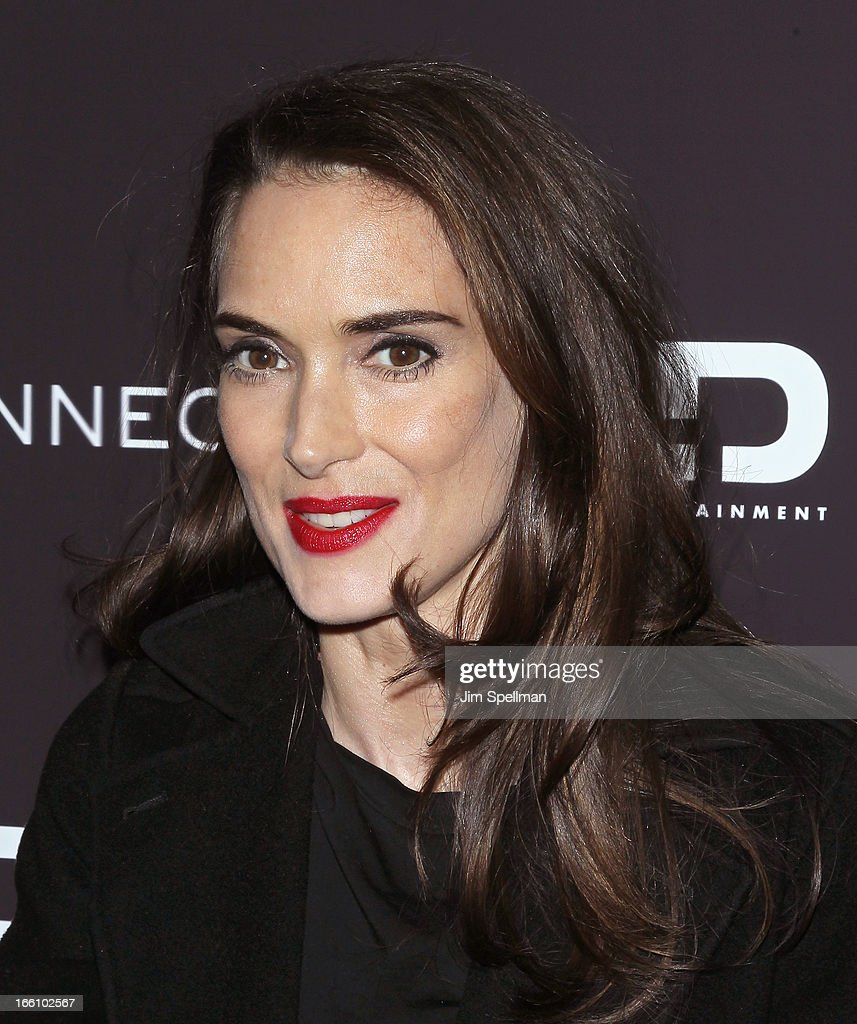 Actress Winona Ryder attends 'Disconnect' New York Special Screening at SVA Theater on April 8, 2013 in New York City.
