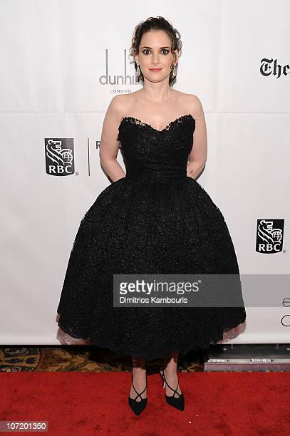 Actress Winona Ryder attends IFP's 20th Annual Gotham Independent Film Awards at Cipriani Wall Street on November 29 2010 in New York City